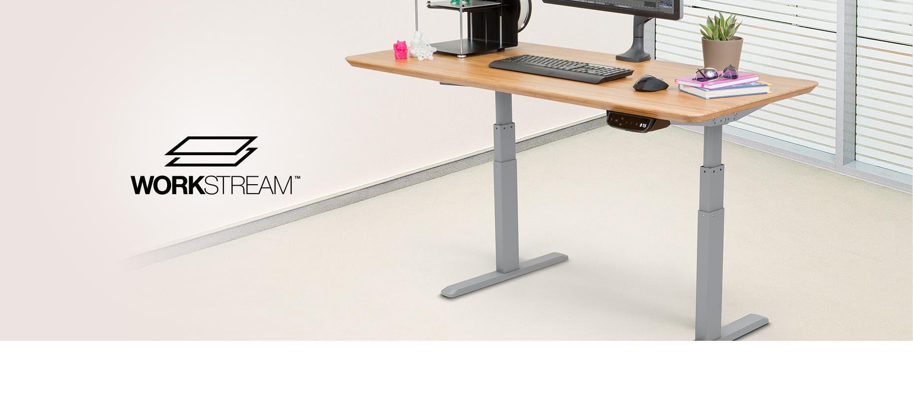 sit keyboard series bush elegant business desk furniture electric height metal stand adjustable awesome standing of amazing diy move corner legs black