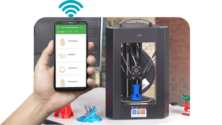PoloPrint Pro Wi-Fi CONNECTION. Connect to the printer over Wi-Fi using the updated PoloPrint Pro app for iOS or Android.