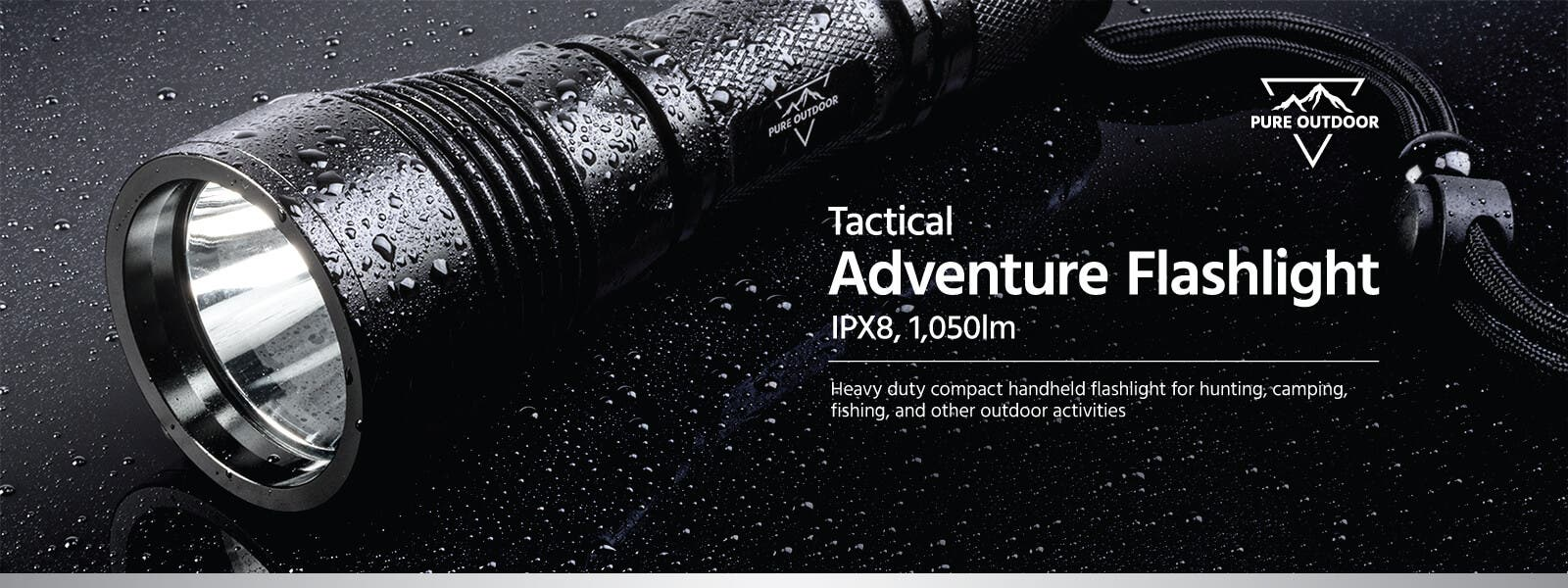 Tactical Adventure Flashlight