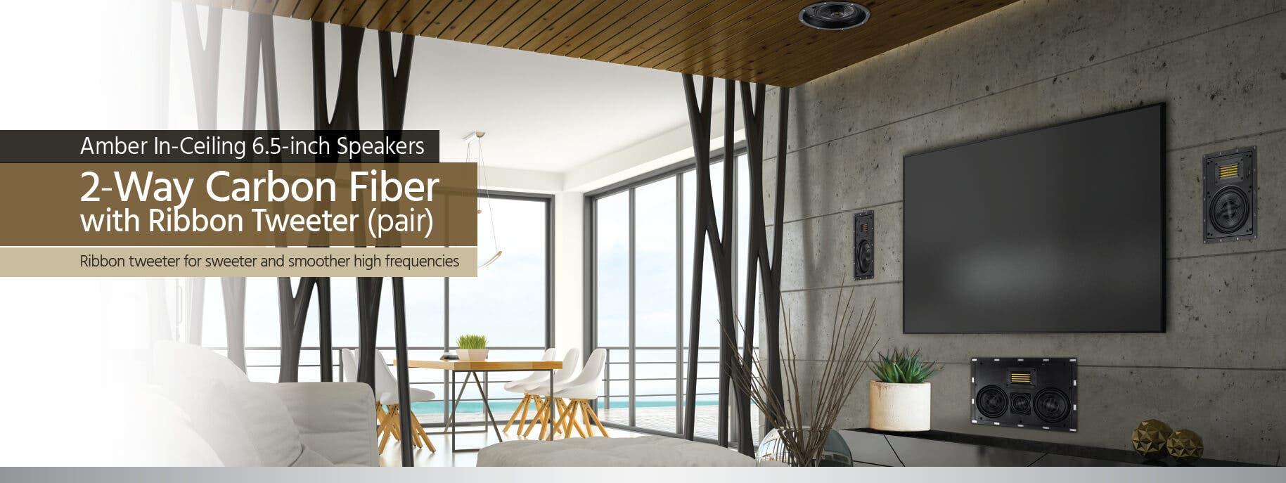 Amber In-Ceiling Speaker