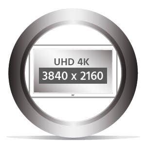 UHD 4K Resolution