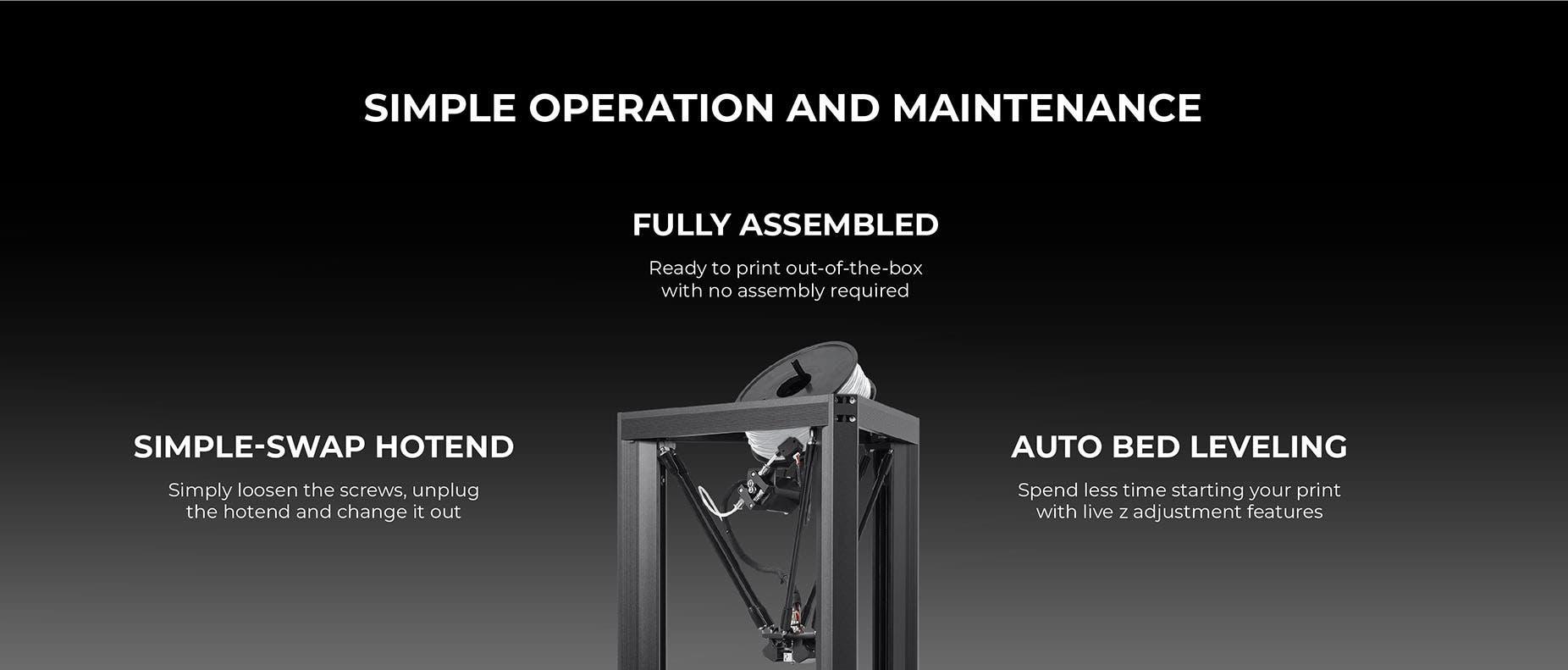 Delta Pro 3D Printer