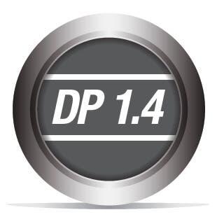 DisplayPort 1.4 Compliant