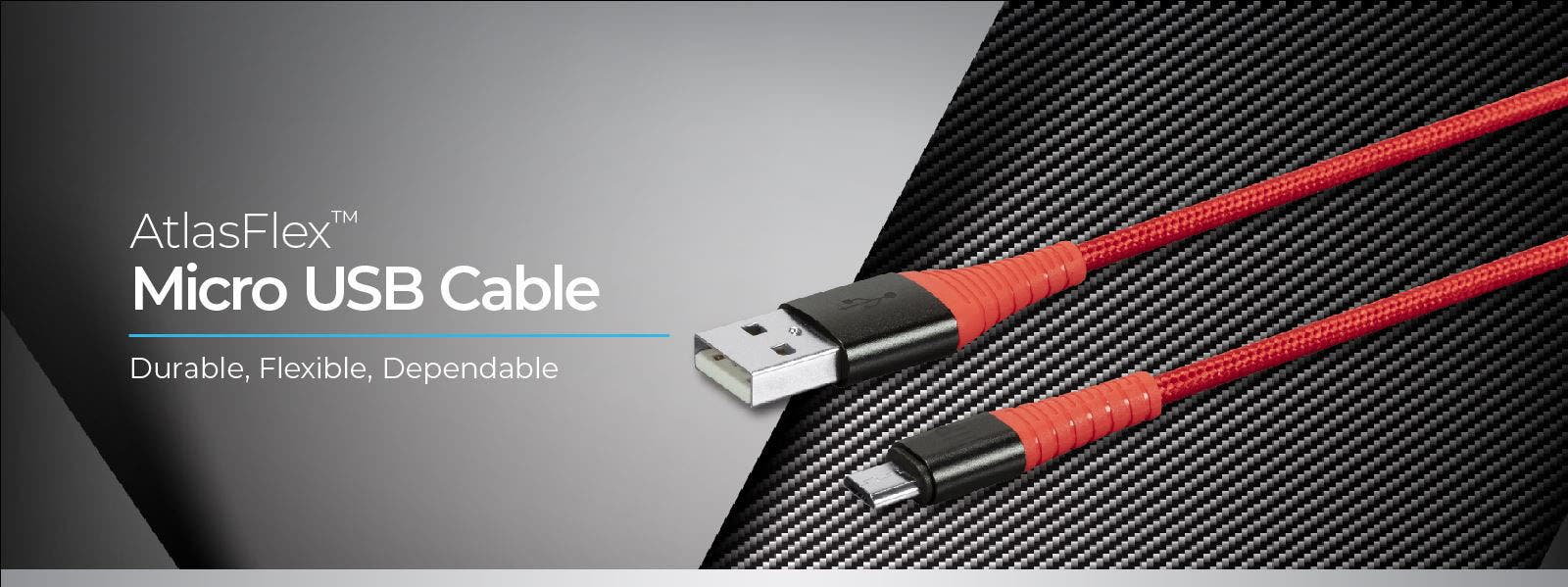 AtlasFlex Micro USB Cable