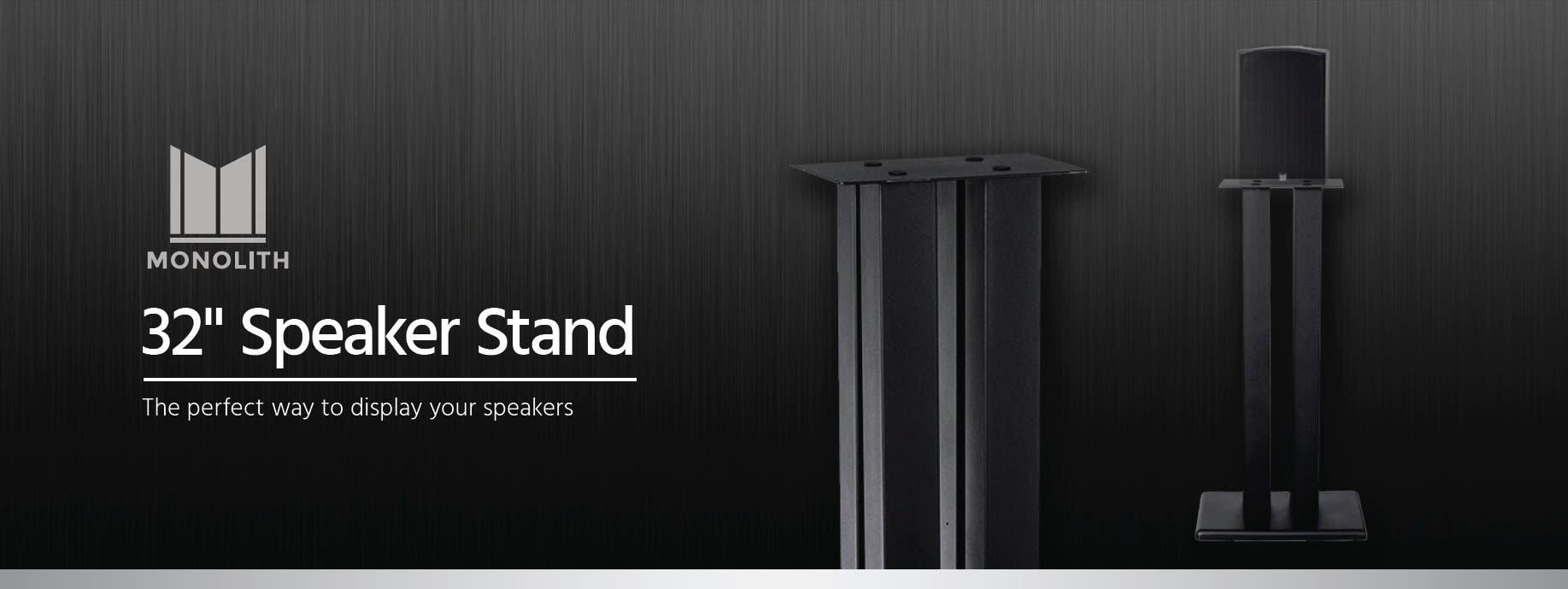 Monolith Speaker Stand