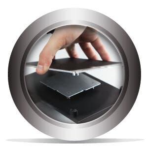 Plaque de fabrication magnétique amovible