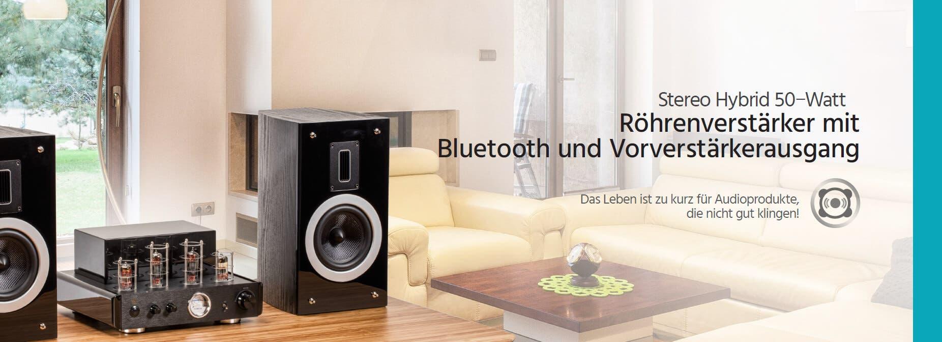 Röhrenverstärker mit Bluetooth