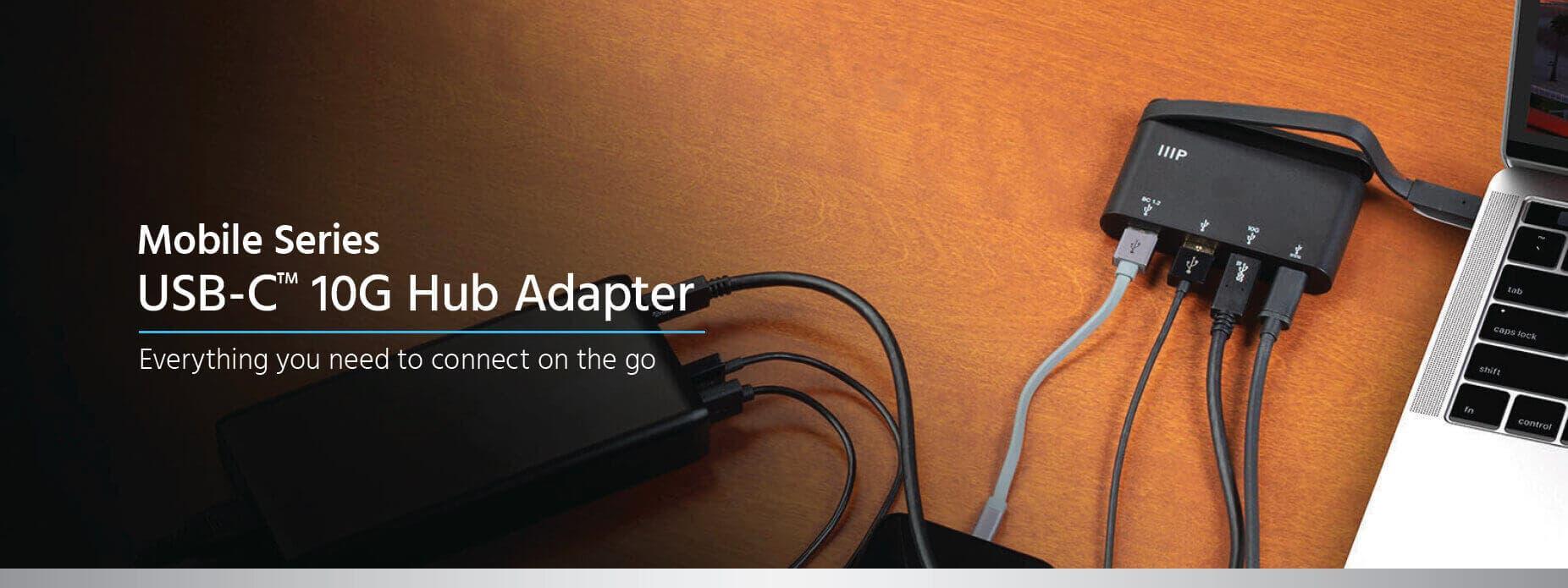 USB-C 10G Hub Adapter