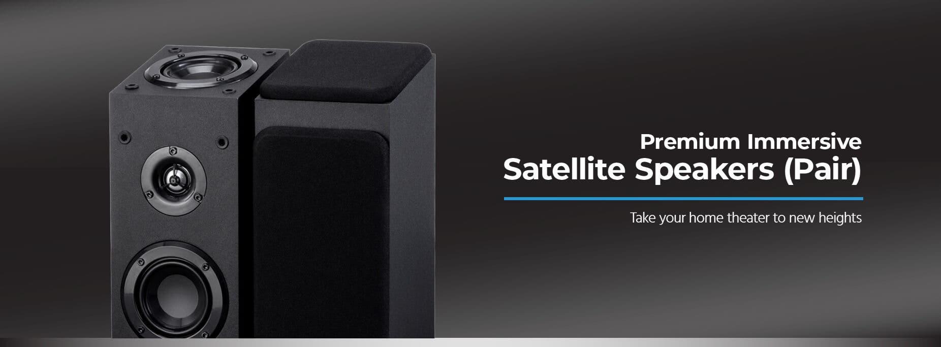 Immersive Satellite Speakers