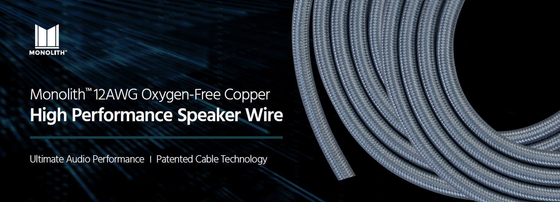 Monolith Speaker Wire
