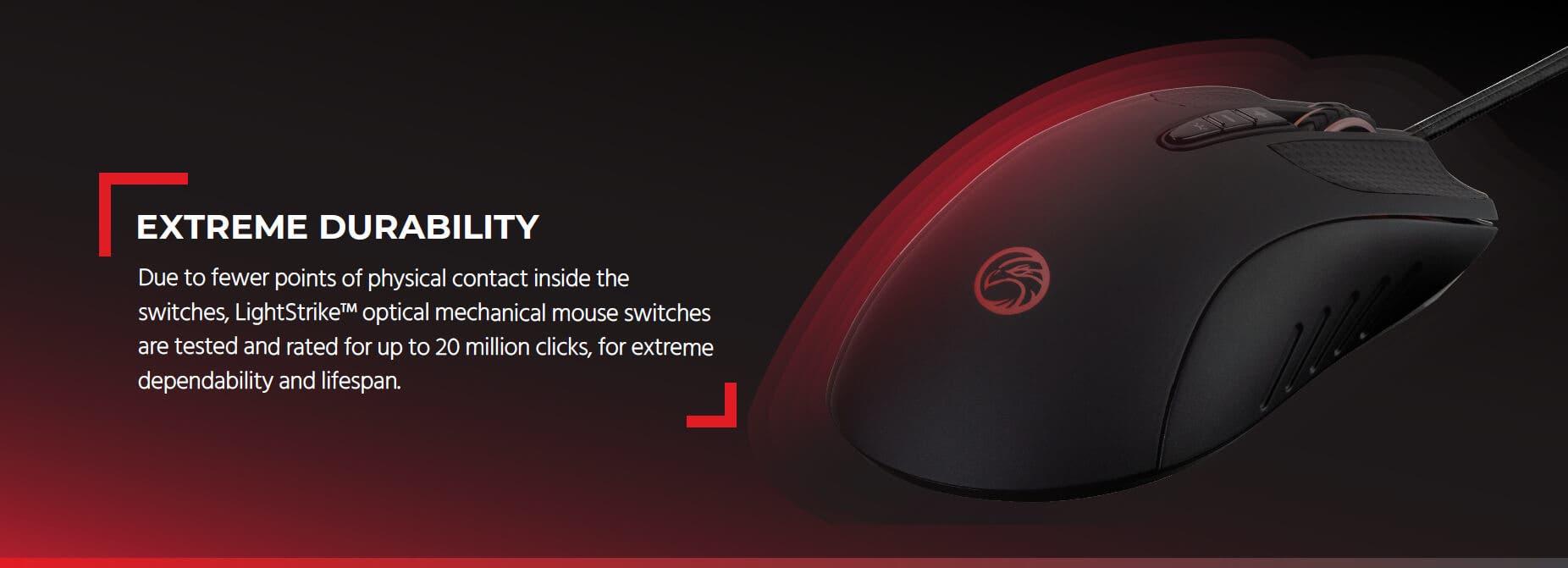 Blackbird Gaming by Monoprice MP90 Laser Gaming Mouse - 12,000DPI