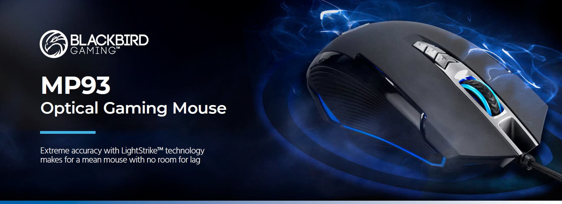 Blackbird Gaming by Monoprice MP93 Optical Gaming Mouse