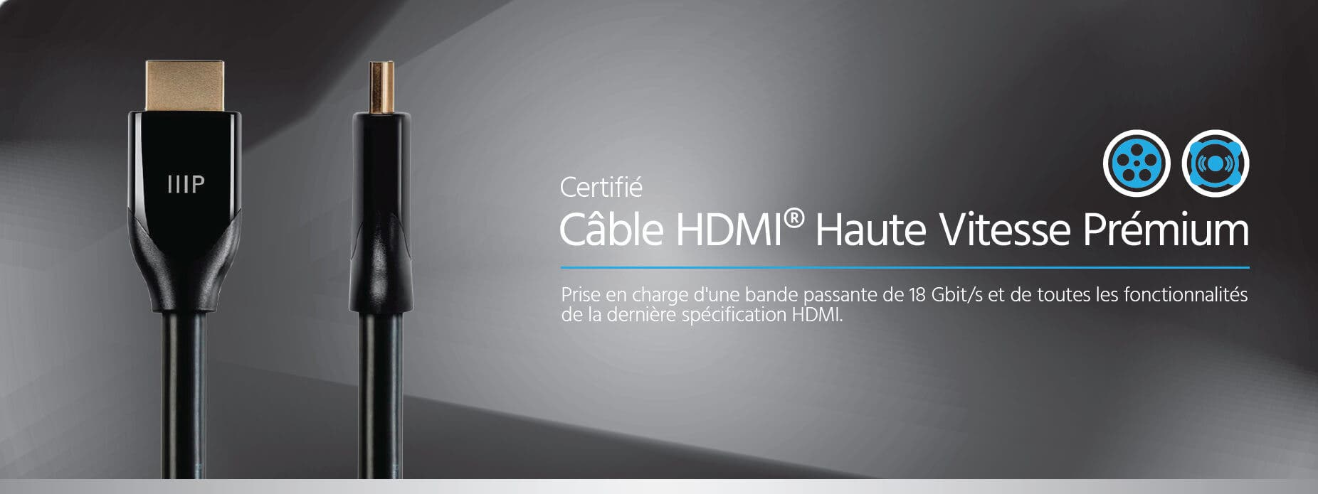 Certified Premium High Speed HDMI Cable