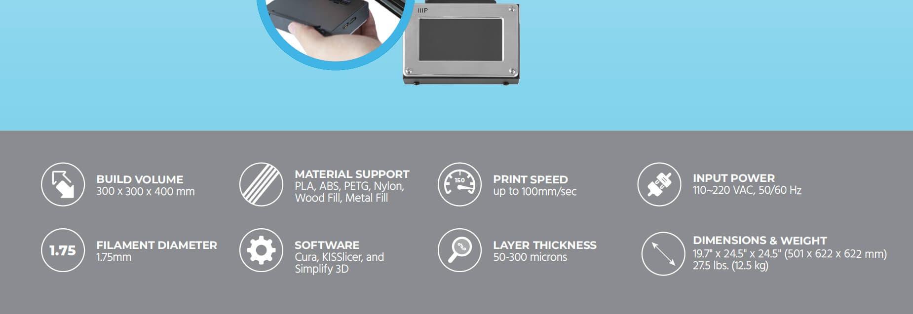 MP10 3D Printer