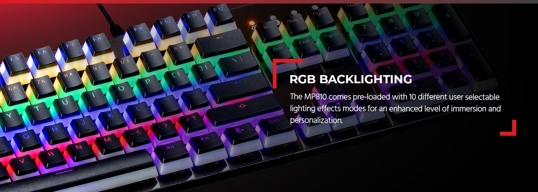 Blackbird Gaming by Monoprice MP810 Optical Mechanical