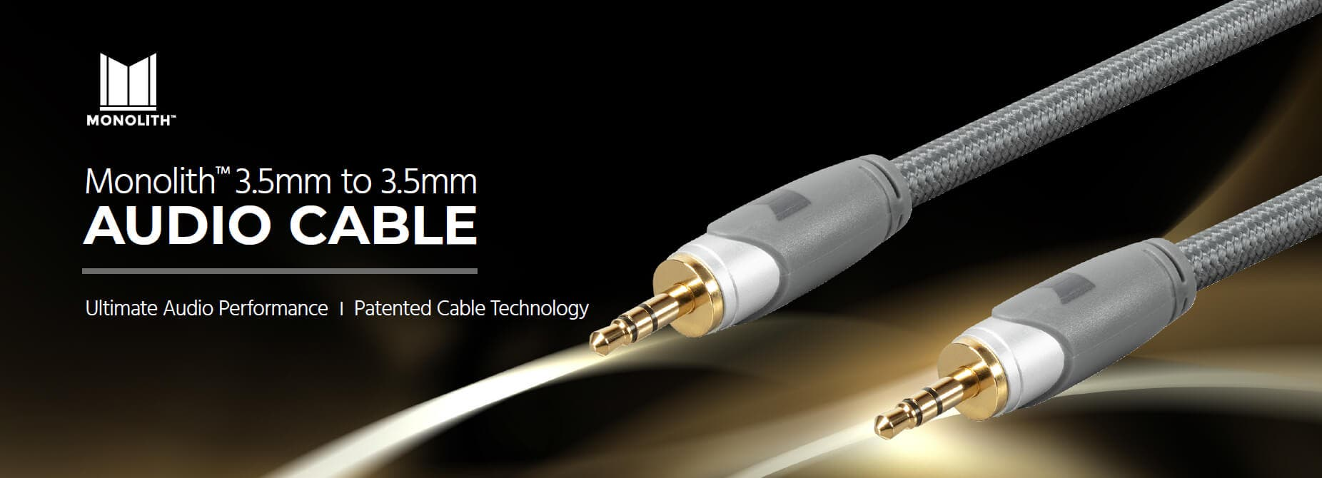 Monolith 3.5mm to 3.5 mm Audio Cable