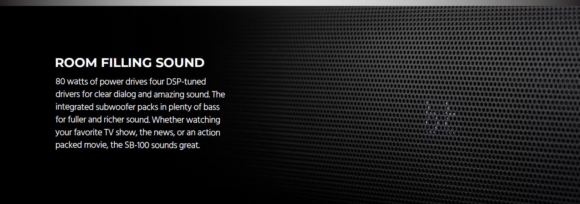 SB-100 Soundbar