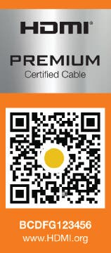 HDMI Premium Certified Cable