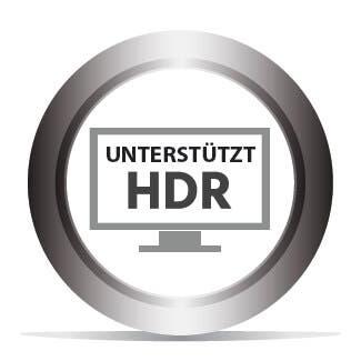 Unterstützt HDR