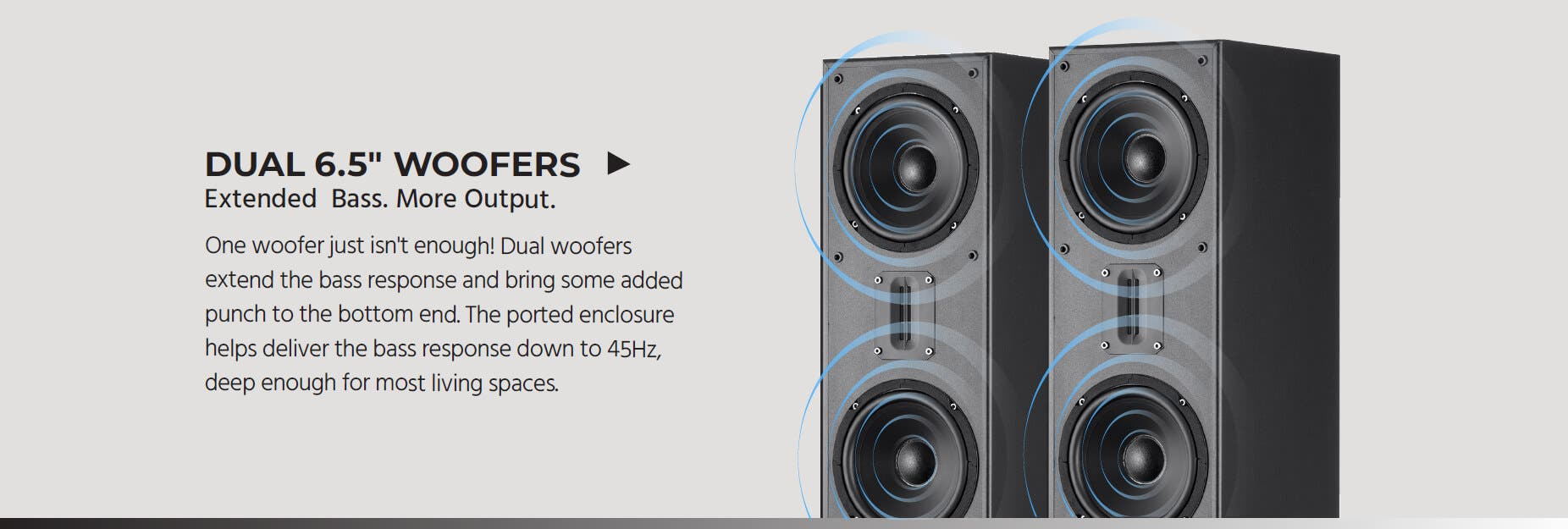 TOWER HOME THEATER SPEAKERS