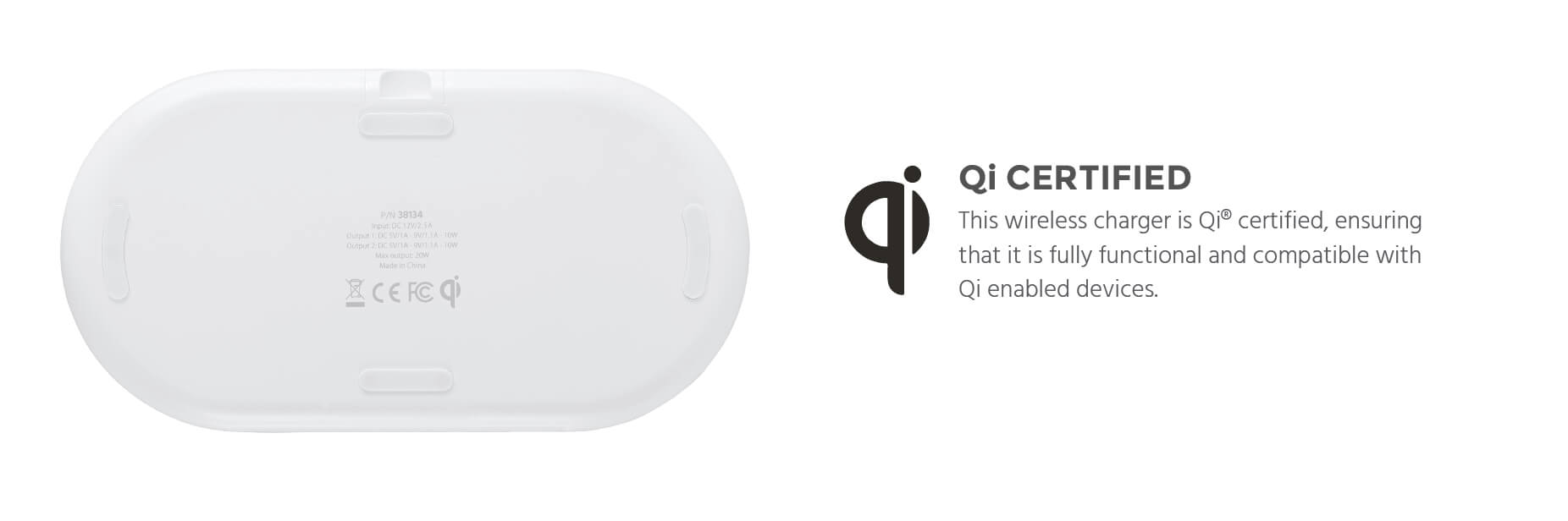 Qi Dual Wireless Charger