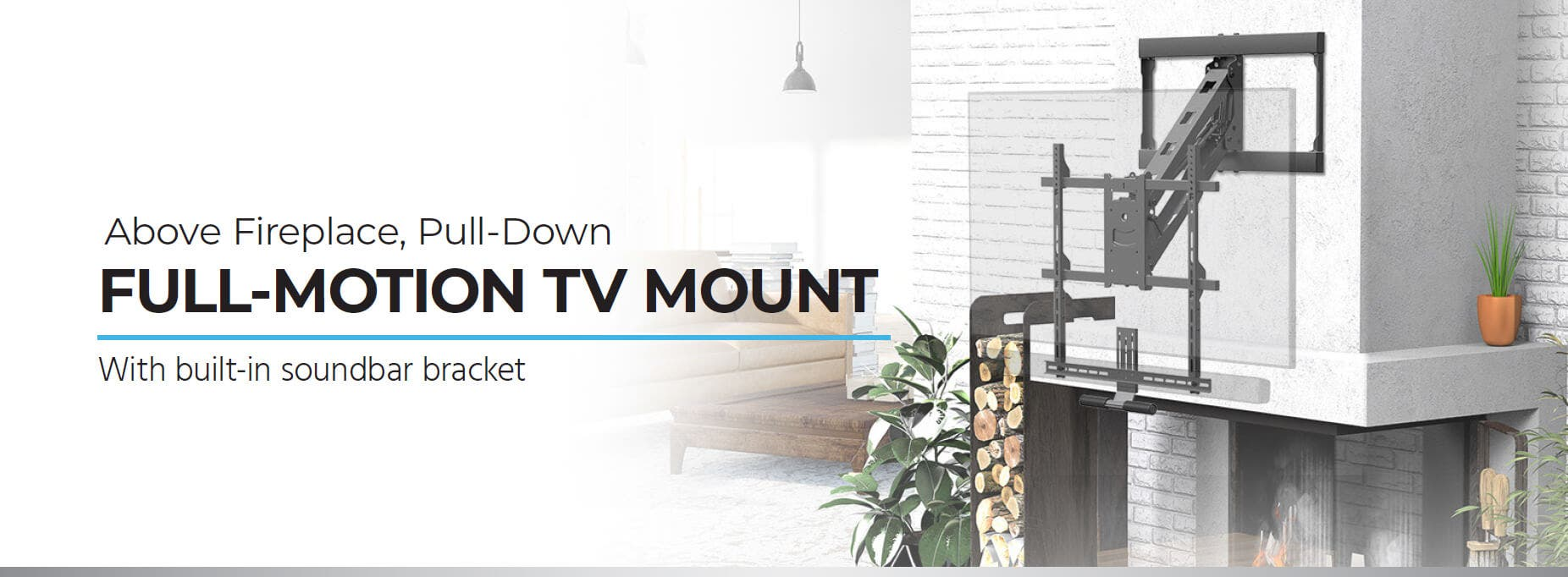 FULL-MOTION TV MOUNT