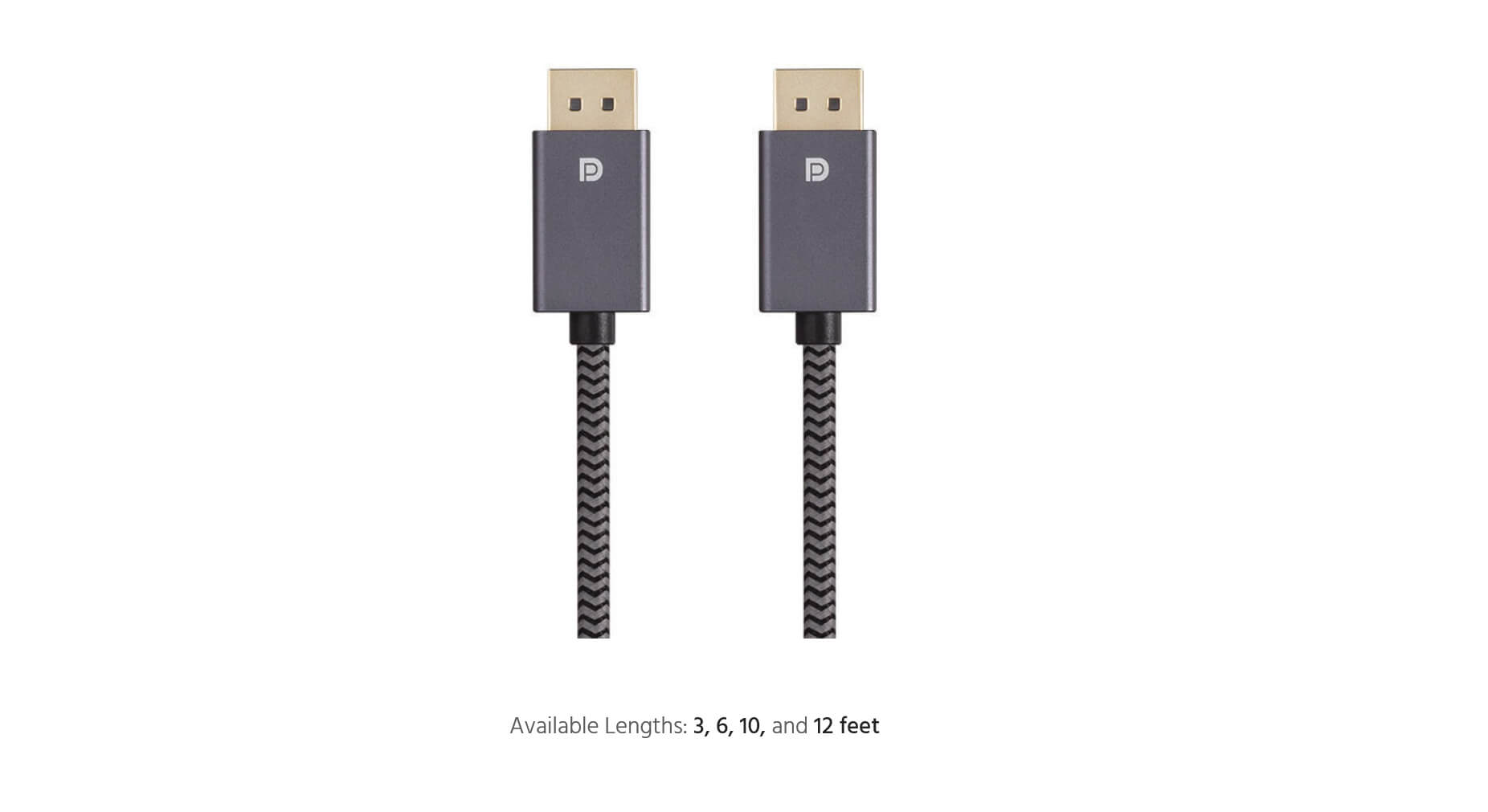 DisplayPort® 1.2 EasyPlug™ Cable