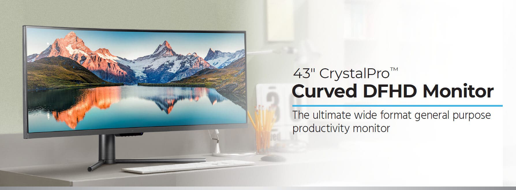 43in Curved DFHD Monitor