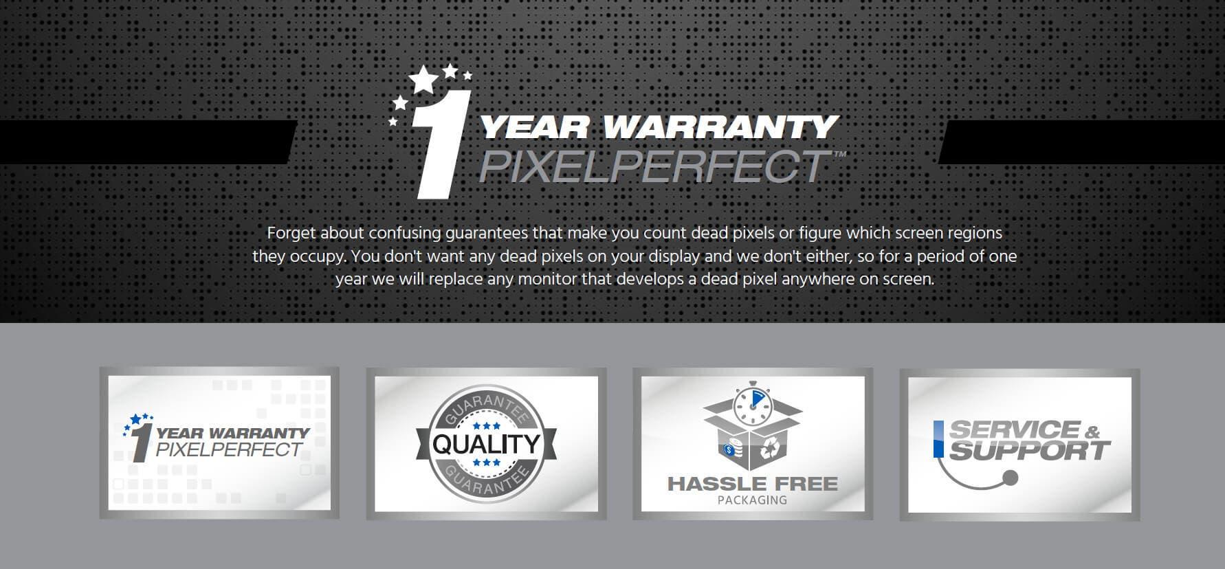 PixelPerfect Warranty