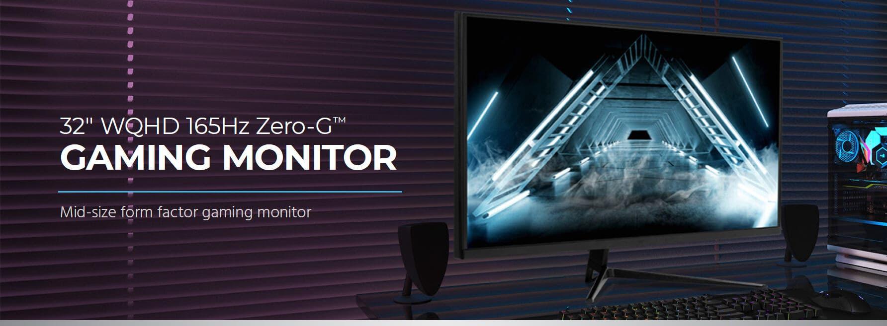 32in Zero-G Gaming Monitor