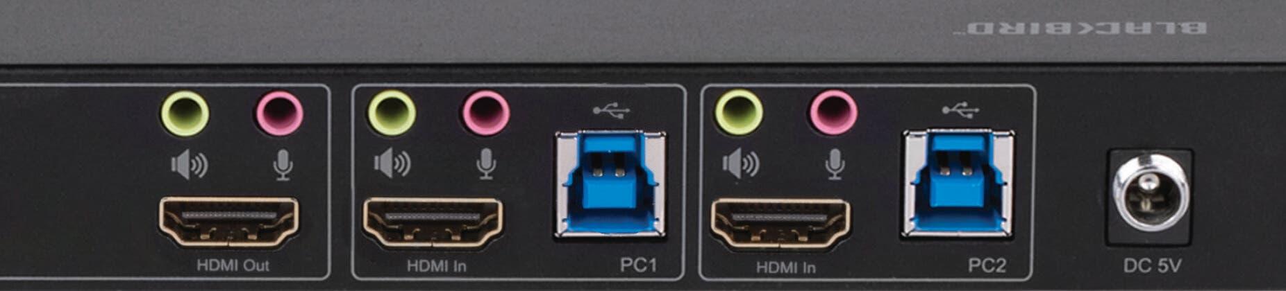 2x1 KVM Switch