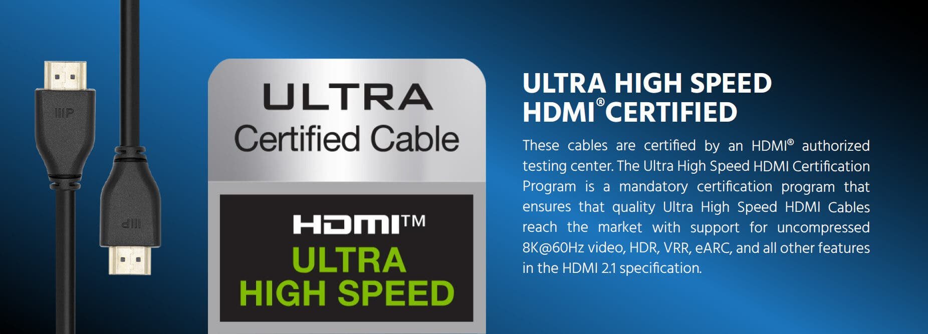 8K Ultra High Speed HDMI Cable