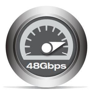48Gbps Bandwidth