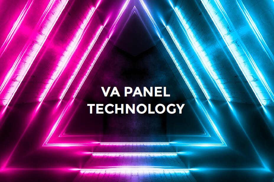 VA PANEL TECHNOLOGY. This monitor employs VA panel technology, which is widely sought after for its ability to provide brilliant color, contrast, and fast response times.