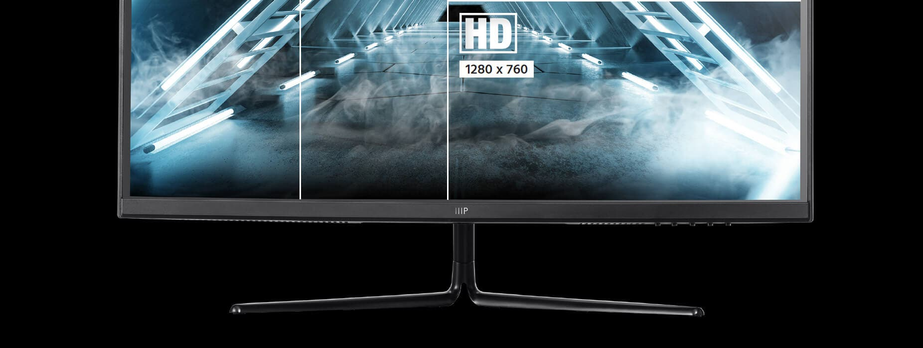 This monitor features a maximum resolution of 2560x1440 (QHD), giving it stunning, high resolution detail for an immersive gaming experience.