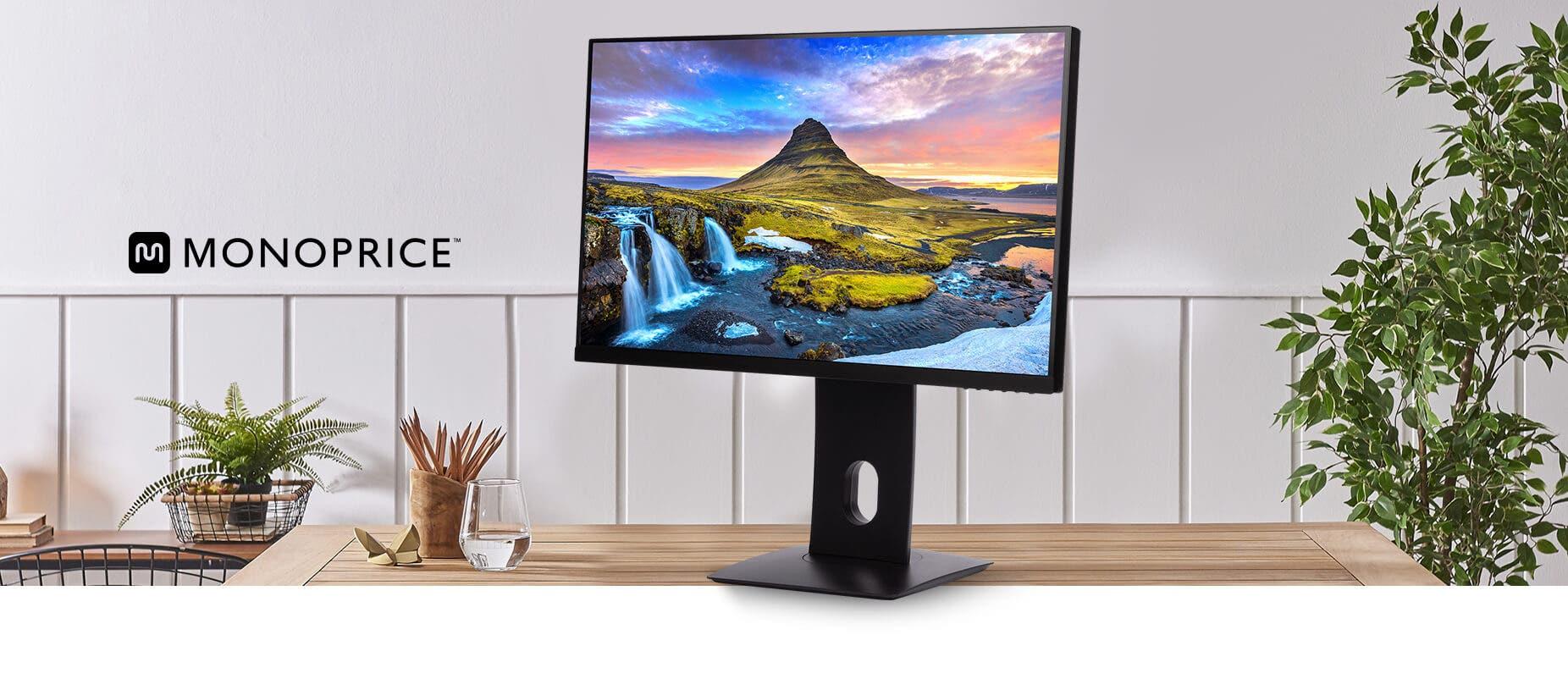 28 inch CrystalPro 4K UHD Monitor
