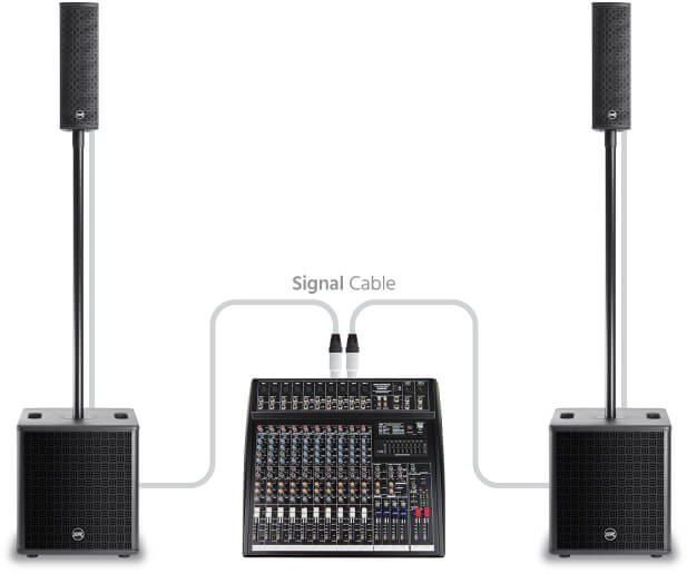 Column Array Sound System