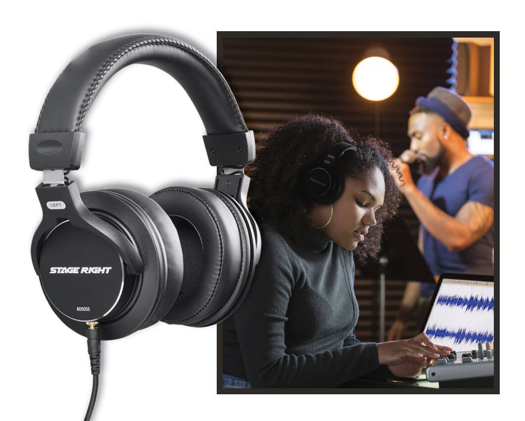 Multimedia Studio Reference Monitor Headphones