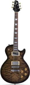 Indio Cali 66 Quilted Maple Top Electric Guitar
