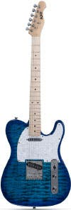 Indio Retro DLX Quilted Maple Top Electric Guitar