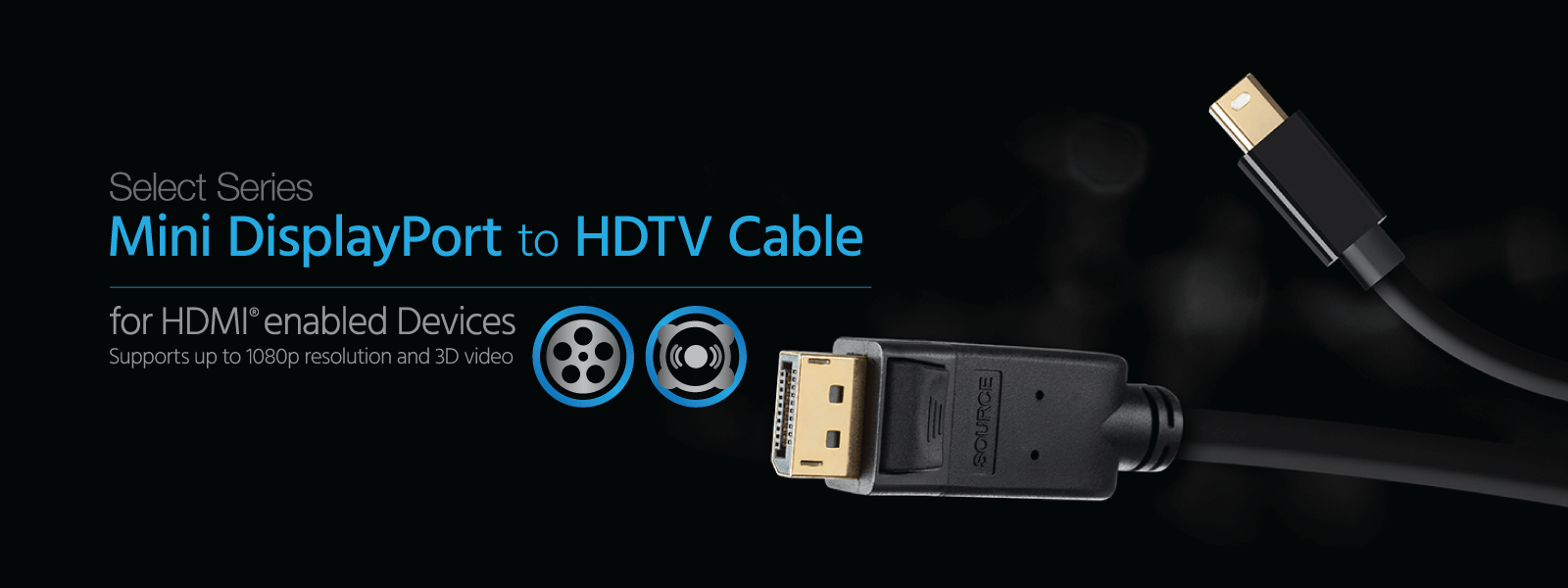 DisplayPort to HDTV Cables