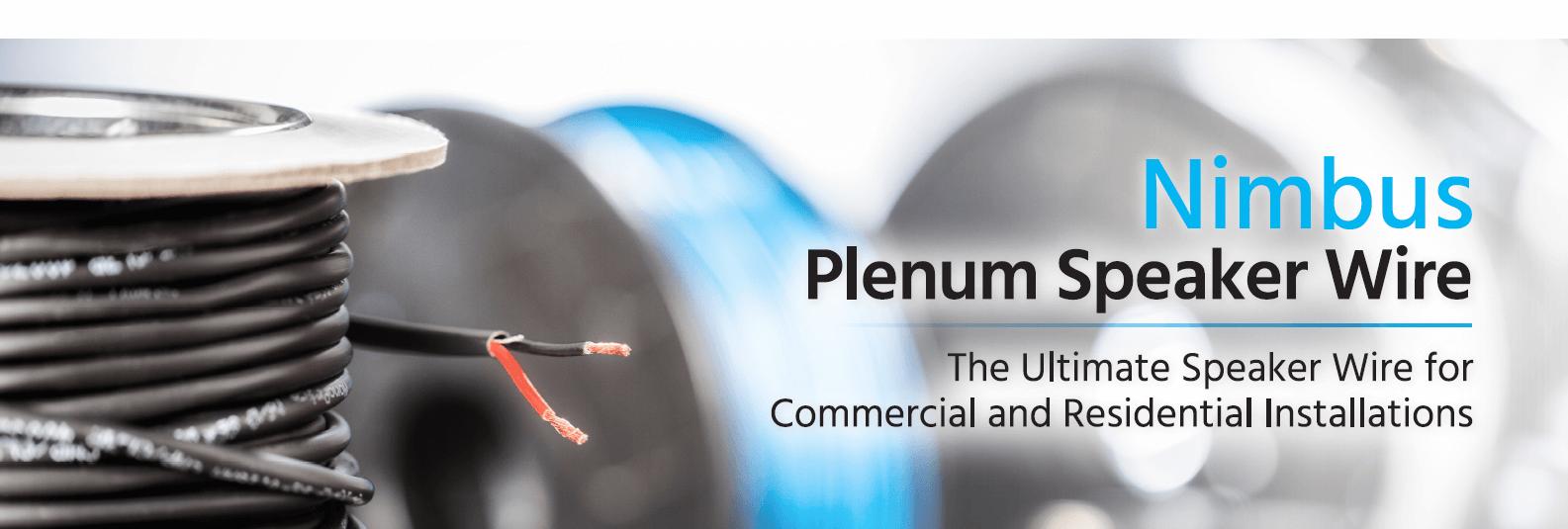 Nimbus Plenum Speaker Wire